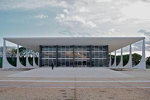Supreme Federal Court, Brasília, Brazil. Portu...