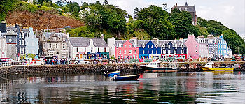 English: Tobermory Waterfront, Isle of Mull, S...