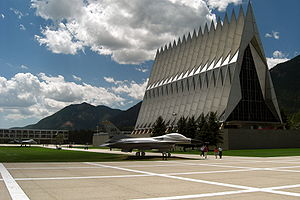 Air academy chapel