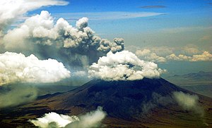 Ol Doinyo Lengai Volcano erupting mountain in ...