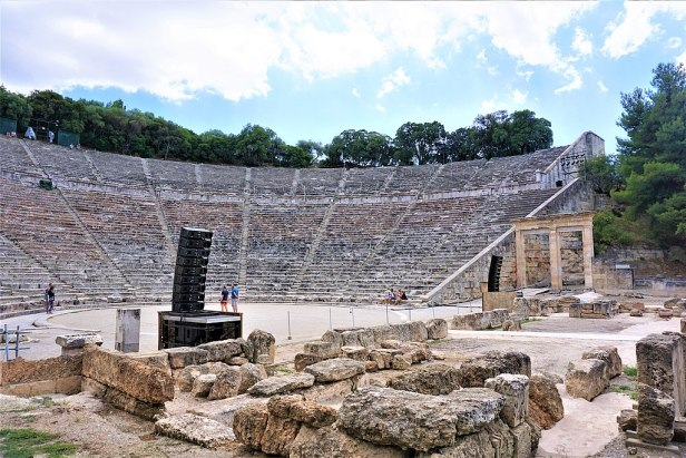 Ancient Theatre of Epidaurus by Joy of Museums
