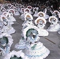 Carnaval no Rio de Janeiro, Brasil - Fevereiro de 2005