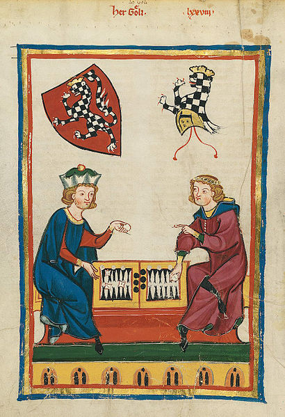 Backgammon, back in the day!