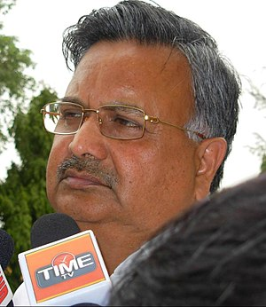 English: Raman Singh Chief Minister of Chattisgarh