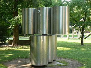 kinetic art sculpture Bewegliche Plastik PA II...