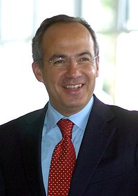 Felipe Calderon, Presiden Meksiko saat ini.