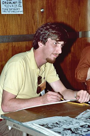 Miller at the 1982 Comic-Con