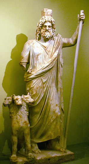 Hades with Cerberus (Heraklion Archaeological ...