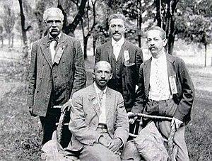Left: Niagara Movement leaders W.E.B. Du Bois ...
