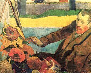 Van Gogh Painting Sunflowers