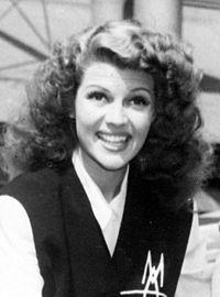 Rita Hayworth en 1942