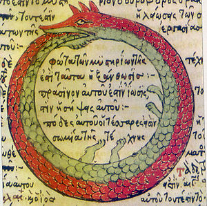 Drawing by Theodoros Pelecanos, in alchemical ...