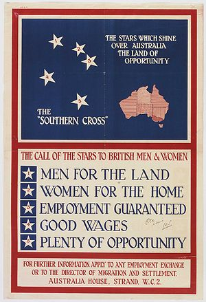 "Australian Government poster — ""The South..."