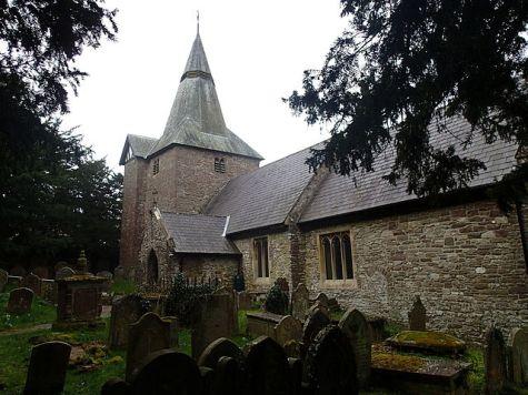 St Elli's Church at Llanelly village, Llanelly