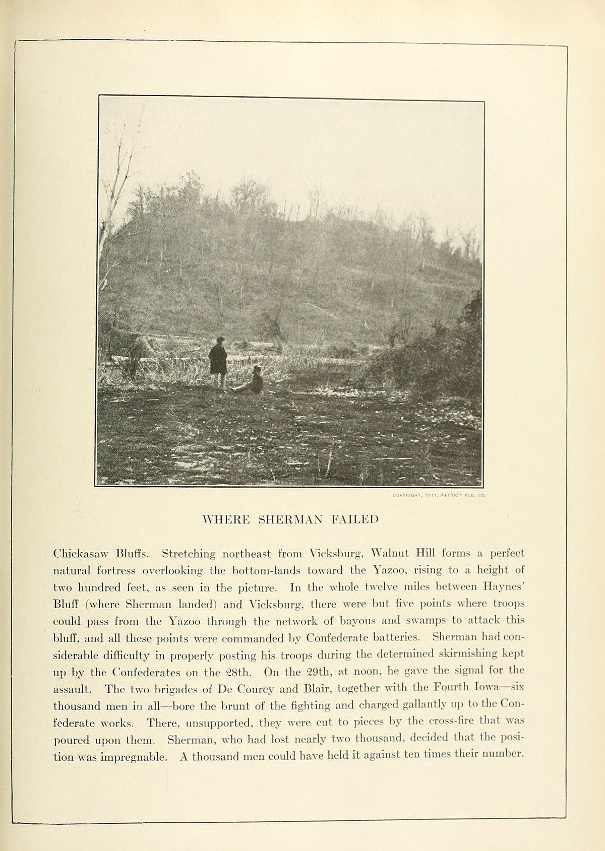 Battle Of Chickasaw Bayou Wikipedia