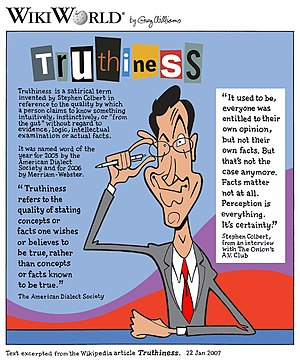 Truthiness comic