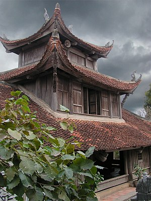 But Thap Pagoda, Bac Ninh Province, Vietnam.