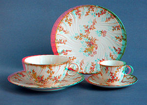 19-century porcelain tea- and coffee-cups styl...