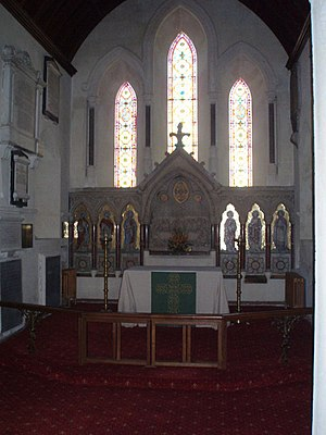 English: Altar at St Nicholas A quiet place fo...
