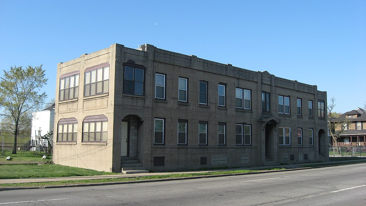 American Sheet And Tin Mill Apartment Building Wikipedia
