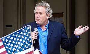 Media personality Andrew Breitbart gives a spe...