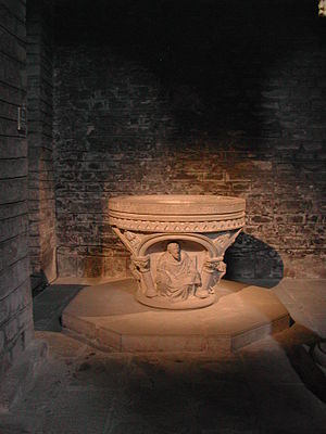 Baptisterium.