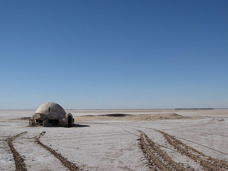 Chott el Djerid - Lars homestead