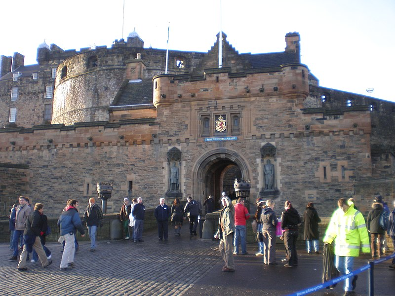 File:Entry to Edinburgh Castle.jpg
