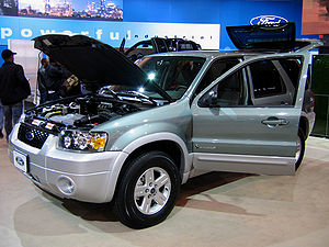 Ford Escape Hybrid the first hybrid electric v...