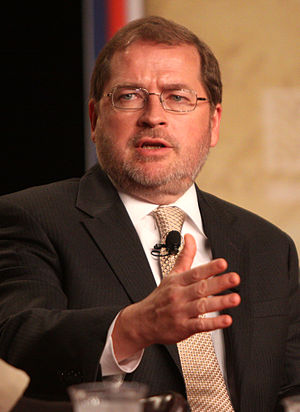 Grover Norquist at a political conference in O...
