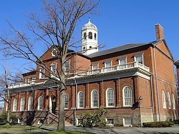 Harvard Hall, Harvard University, Cambridge, M...