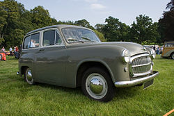 Picture of the sort of Hillman Husky – a 1954-1957 model – unfortunately not a '70s model