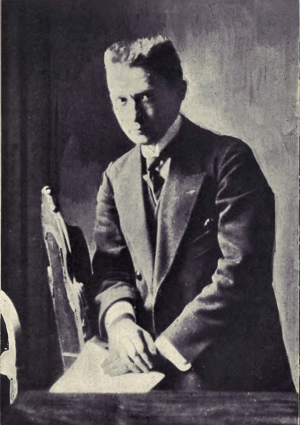 Alexander Kerensky, socialdemocratic politician and head of the Russian Provisional Government (1917).