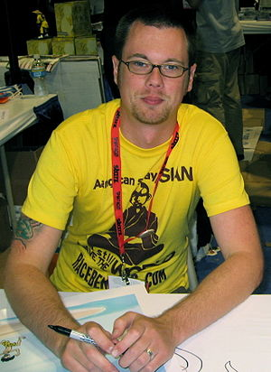 English: English: Mike Krahulik, co-creator of...