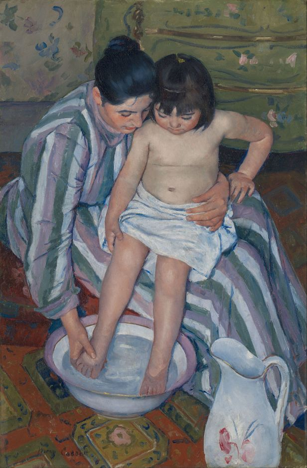 Mary Cassatt - The Child's Bath - Google Art Project