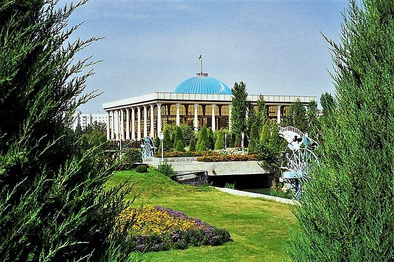 Archivo:Oliy Majlis (Parliament of Uzbekistan).jpg