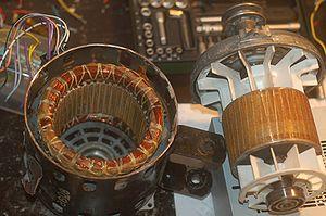 محرك تيار متردد ويكيبيديا