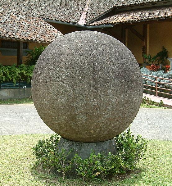 File:Stone sphere.jpg