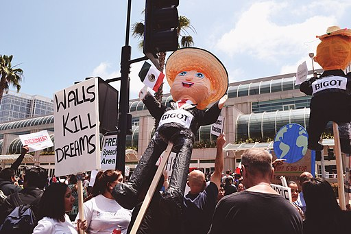 Trump protest San Diego - May 26, 2016
