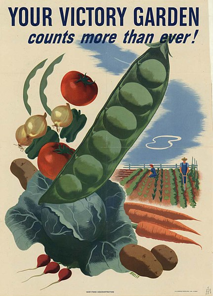 Your Victory Garden...poster from WW II era