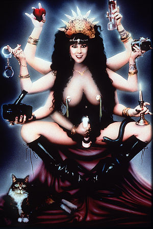Annie Sprinkle as The Neo Sacred Prostitute
