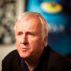 James Cameron being interviewed about his film...