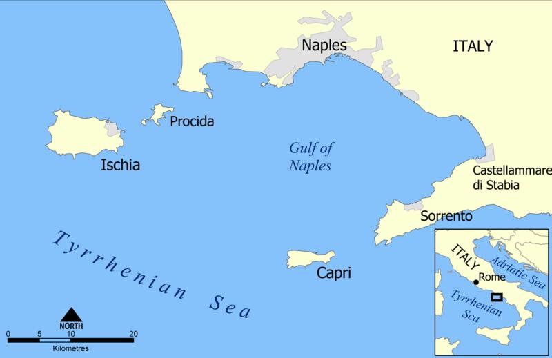 File:Capri and Ischia map.png