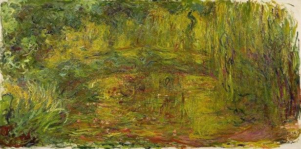 Japanese Bridge Paintings by Claude Monet - Musée Marmottan Monet