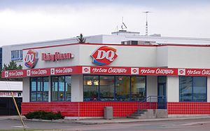 A Dairy Queen location in Moncton