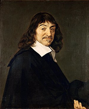 "Portrait of René Descartes, dubbed the ""F..."