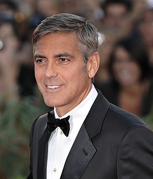 English: George Clooney at the 2009 Venice Fil...
