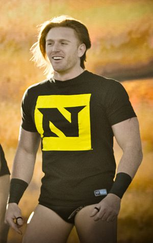 Heath Slater at WWE's 2010 Tribute to the Troo...