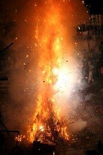 Holi Bonfire Udaipur