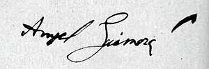 Català: Signatura extreta a partir de la pàgin...